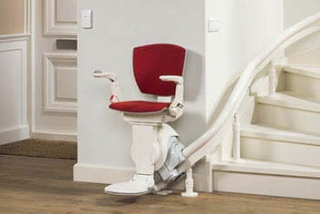 Stairlifts for Curved Spiral Stairs